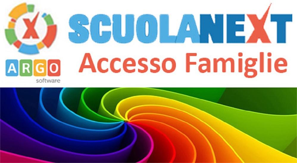 Registro elettronico accesso alle famiglie